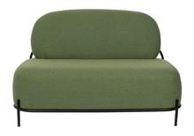 Sofa 2-osobowa POLLY - zielona