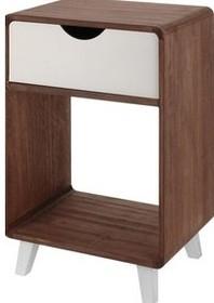 Szafka drewniana wyposażona w jedną szufladę.  Wymiary: 40 cm x 60 cm x 30 cm