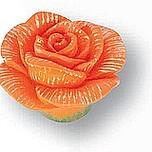 Gałka Z kolekcji Flower - motyw róży Wykonana z tworzywa sztucznego. Zaprojektowana przez Simone Gutsche-Sikora.  Galka z kolekcji Flower będzie...