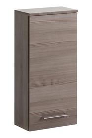 Szafka wisząca górna można powiesić na dowolnej wysokości, szafka łazienkowa posiada metalowe uchwyty oraz zawiasy z cichym zamykaniem.