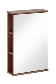 Nowoczesna szafka z lustrem o szerokości 45cm. Szafka po lewej stronie posiada zewnętrze półki które pozwalają na szybki dostęp do...