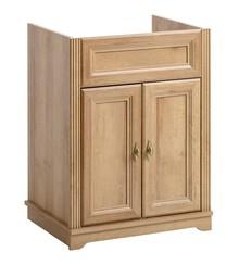 Klasyczna szafka pod umywalkę 60cm z kolekcji Palace riviera wyróżnia się pięknym dekorem w odcieniu dębu. Stojąca szafka pod umywalkę posiada ozdobne...