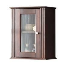 Wisząca szafka łazienkowa została w całości wykonana z naturalnego drewna sosnowego. Dla ułatwienia front szafki posiada przeźroczystą szybę, szafki...