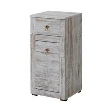 Szafka niska łazienkowa w pięknym starym stylu prowansalskim.