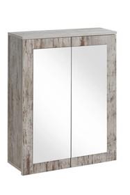 Szafka z lustrem 60cm w pięknym starym stylu prowansalskim.