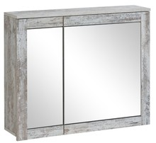 Szafka z lustrem 80cm w pięknym starym stylu prowansalskim.