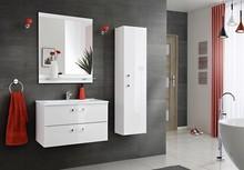 Kolekcja Adel charakteryzuje się nowoczesną formą w delikatny wydani. Meble łazienkowe Adel dadzą Ci bardzo dużo miejsca do przechowywania, nawet lustra...