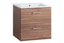 Szafka łazienkowa Harmony posiada dwie szuflady, obie posiadają prowadnice z systemem cichego zamykania. Prezentowana szafka pod umywalkę posiada uchwyty...