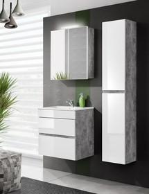 Meble łazienkowe z kolekcji Atelier to nowoczesne i modne rozwiązanie. Wszystkie szafki tej kolekcji posiadają białe fronty w wysokim połysku z...