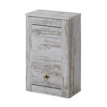 Szafka wisząca łazienkowa w pięknym starym stylu prowansalskim.