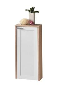 Półsłupek łazienkowy z kolekcji Piano sonoma / biały to mniejsza propozycja do stylowych łazienek. Szafka po otwarciu drzwi posiada jedną...