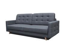 Model Pik to funkcjonalna i komfortowa kanapa wyposażona w dwuosobową funkcje spania o powierzchni 140 x 200 cm oraz praktyczny pojemnik na pościel,...