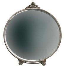 Lustro POSH okrągłe - metalowe