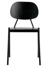 Kolor: czarny  Materiał:  -metal -drewno  Wymiary:  81,5x44,5x53 cm