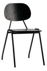 Krzesło SEMINARY SCHOOL - czarne