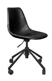 Krzesło biurowe FRANKY - czarne