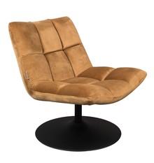 Fotel Bar złoty brąz