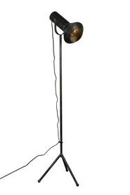 Materiał: metal malowany proszkowo, przecierany  Długość: 40 cm Szerokość: 20 cm Wysokość: 158.00 cm  Waga: 3.1 kg