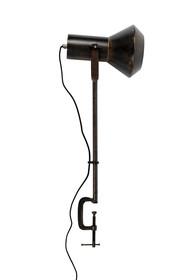 Materiał: stal malowana proszkowo, przecierana  Waga: 1.75 kg  Długość: 28 cm Szerokość: 20 cm Wysokość: 88 cm