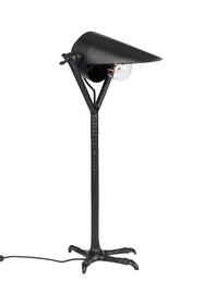 Kolor: czarny  Materiał: aluminium malowana proszkowo  Długość: 30 cm Szerokość: 25 cm Wysokość: 62 cm  Waga: 1.6 kg