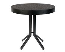 Stół BISTRO MAZE okrągły - czarny