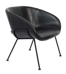 Fotel lounge FESTON - czarne