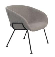 Fotel lounge FESTON - szary