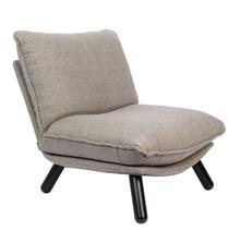 Fotel lounge LAZY SACK - jasnoszary