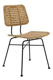 Krzesło rattanowe - naturalne