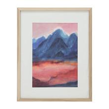 Mały obraz w ramce rozmiar L: Zachód słońca