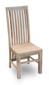 Krzesło drewniane, krzesło mango