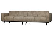 Sofa Statement 4-osobowa 280 cm skóra słonia