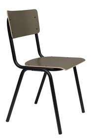 Krzesło BACK TO SCHOOL oliwkowy mat