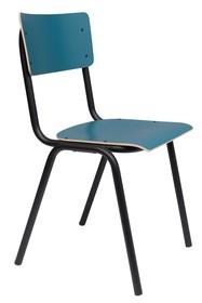 Krzesło BACK TO SCHOOL - niebieski mat