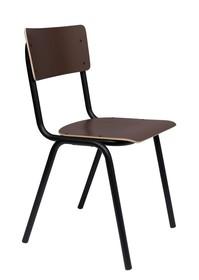 Krzesło BACK TO SCHOOL - brązowy mat