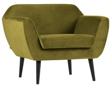 Fotel ROCCO velvet - oliwkowy
