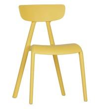 Krzesło dziecięce WISSE - żółte