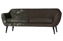 Sofa Rocco 187 cm velvet z nadrukiem