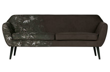 Sofa ROCCO 187 cm velvet - z nadrukiem
