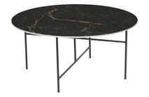 <br />Kolor: czarny<br />Materiał: porcelana<br />Wymiary: 40xØ80<br />Grubość blatu: 1 cm<br />EAN:...