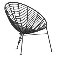 Fotel JANE - czarny