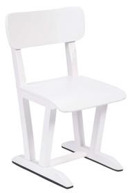 Holenderskie krzesło szkolne w kolorze białym