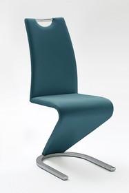 Krzesło AMADO - turkusowy