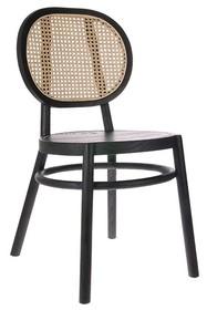 Krzesło RETRO - czarne