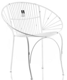 Fotel metalowy ABRO_Aluro