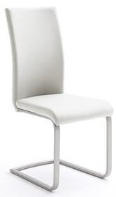 Krzesło PAULO 1 na płozie - biały