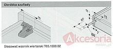 Prowadnica MOVENTO z BLUMOTION S 766H dł.55 cm Wysuw 100% 60kg - Blum