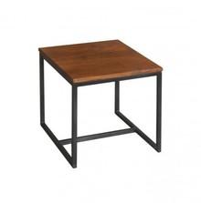 Stolik kawowy, pomocnik, drewno metal, lotf