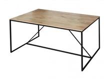 Stół drewno metal, lotf