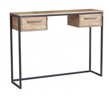Konsola drewno metal, lotf LV-1443-ANL